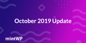 mintWP October 2019 Update